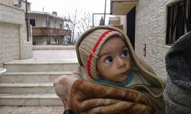 Füvet és leveleket esznek az emberek az ostromlott szíriai városban