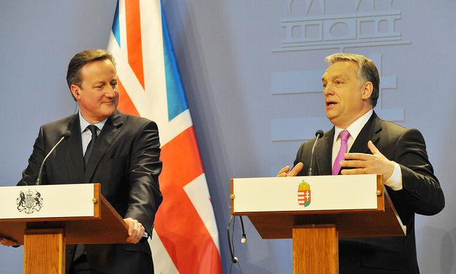 Reagáltak a pártok az Orbán-Cameron találkozóra