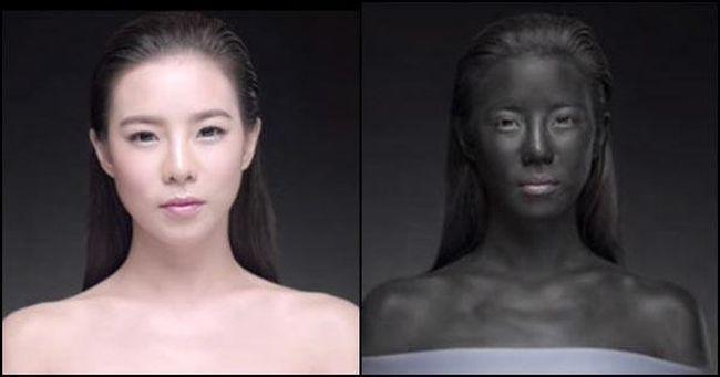 Botrány a bőrfehérítő reklám miatt