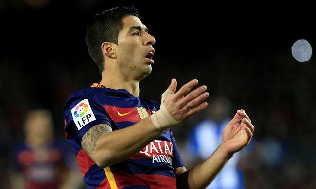 Két meccsre eltiltották a Barcelona egyik legnagyobb sztárját