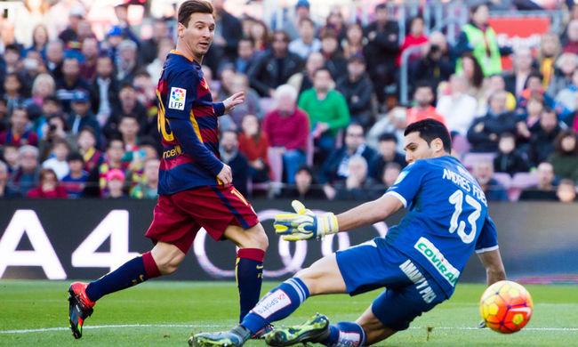 Messi rúgott egy mesterhármast, nyert a Barcelona - videók
