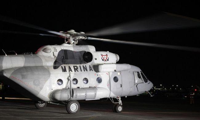 Helikopterrel vitték vissza a mexikói drogbárót a börtönbe