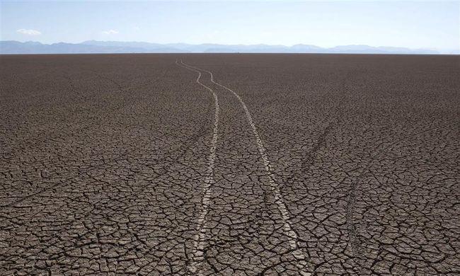 Kiszáradt Bolívia második legnagyobb tava