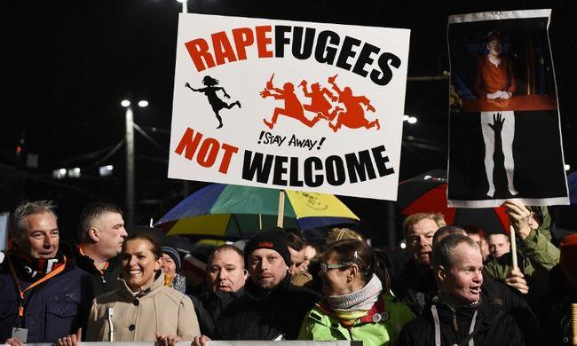Kölni erőszak: több ezren tüntettek a migránsok ellen