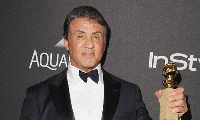 Stallone végre megkapta a Golden Globe-díjat