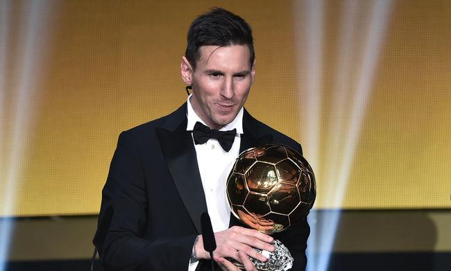Ismét Messi a világ legjobbja