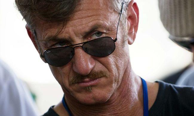 Bírálják és kinevetik Sean Pennt a drogbáróval készített interjúja miatt