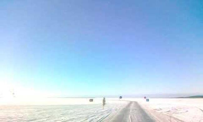 Megnyitották a jégutat a tengeren