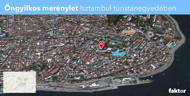 Isztambul szimbóluma mellett robbantottak