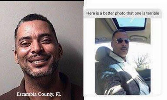 Elfogták a férfit, akinek nem tetszett a körözési fotója
