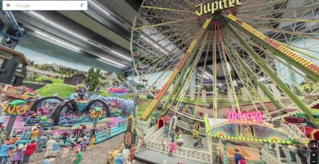 Apró városlakóként lehet bejárni a modellvasutat a Google segítségével - videó