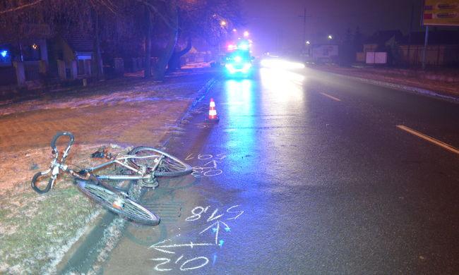 Elütötte a biciklist, aztán otthagyta szenvedni az úton