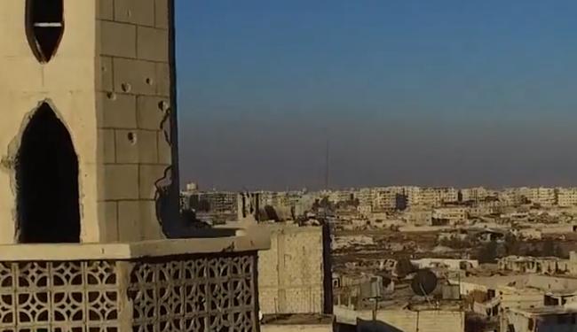 Drónvideó: így néz ki a porig bombázott Damaszkusz