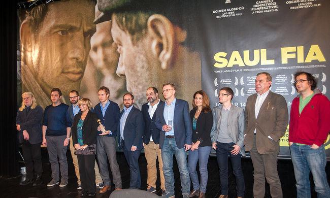 """""""Nem vagyunk zsenik, csak sokat dolgoztunk"""" - mondta a Saul fia rendezője"""