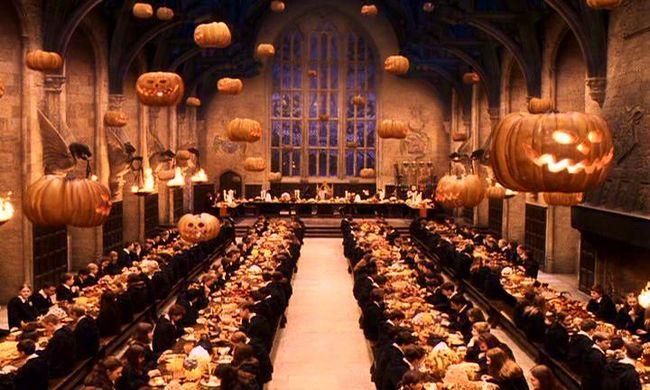 Romantikus vacsora Harry Potter varázslóiskolájában