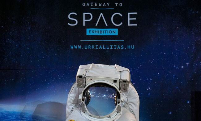 Megnyílt az űrkiállítás Budapesten