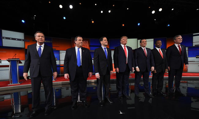 Ütötték-vágták egymást, ahol érték - már senki nem udvariaskodott a republikánus elnökjelölti vitán