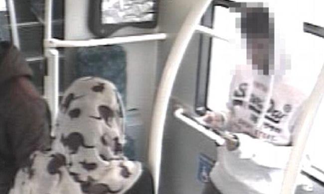 Tizenéves fiút késelt a buszon egy nő - videó