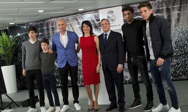 Zidane fiai miatt zárták ki a Real Madridot két átigazolás időszakból