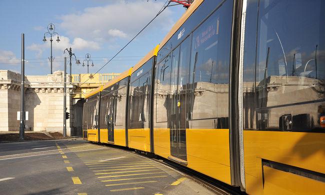 Több budapesti villamos helyett pótlóbusz jár majd a hétvégén