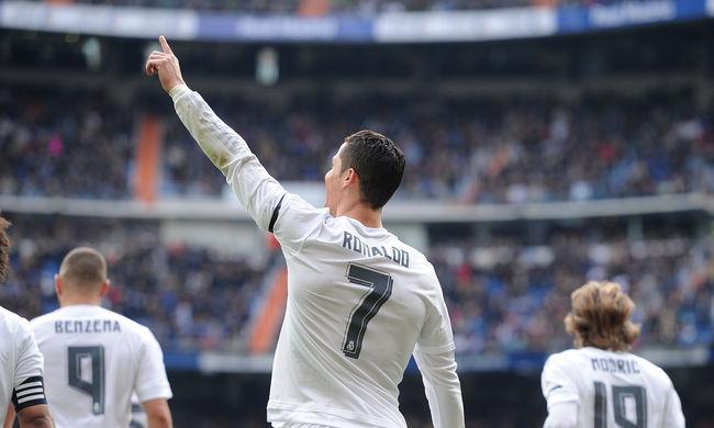 A Real Madrid öt gólt rúgott és nyert