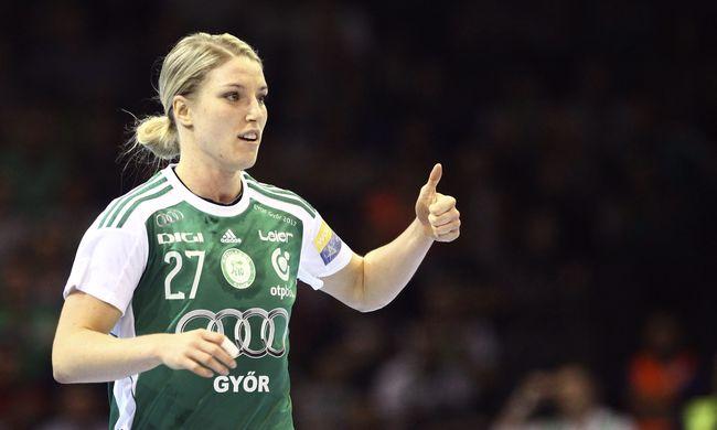 Női kézilabda BL: nyolc góllal nyert a Győr
