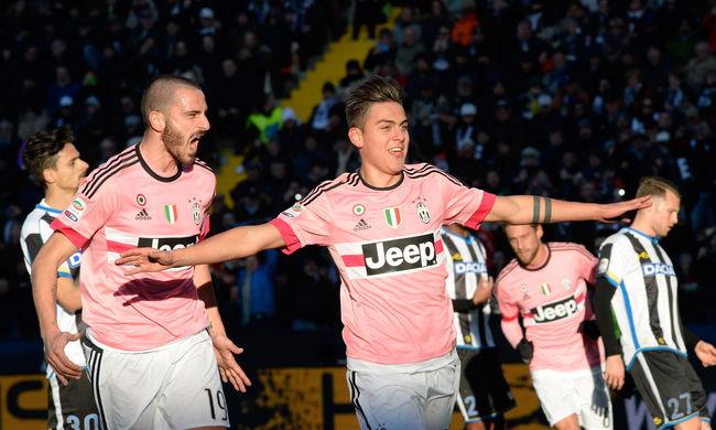 Sorozatban tizedik meccsét nyerte a Juventus, de még a Napoli vezet