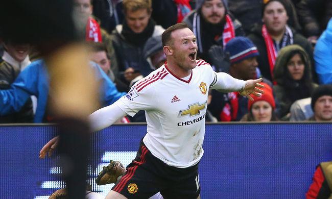 Rooney élete formájában, megmenti van Gaalt és a Manchestert  - videó