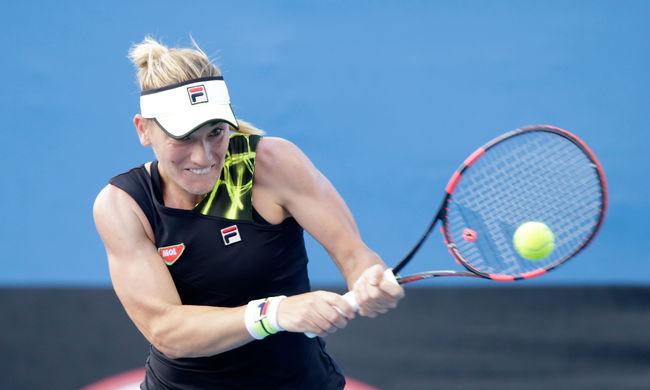 Nyert a magyar teniszezőnő az Australian Openen
