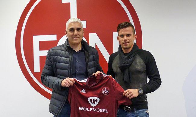 A Nürnberg kölcsönvette a magyar válogatott játékosát