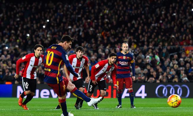 Messi sérülése nem komoly, de két meccset kihagyhat miatta