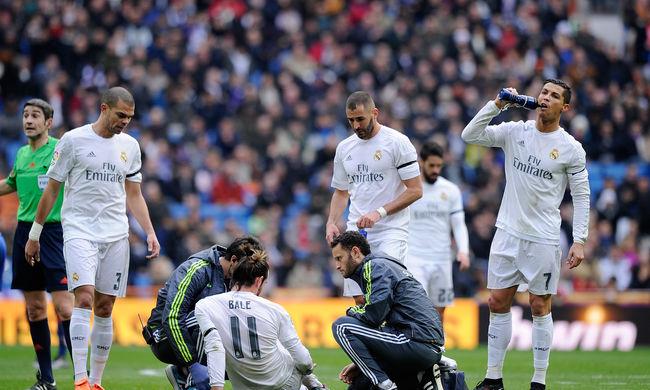 Lehet, hogy a BL-meccsre sem épül fel a Real Madrid sztárja
