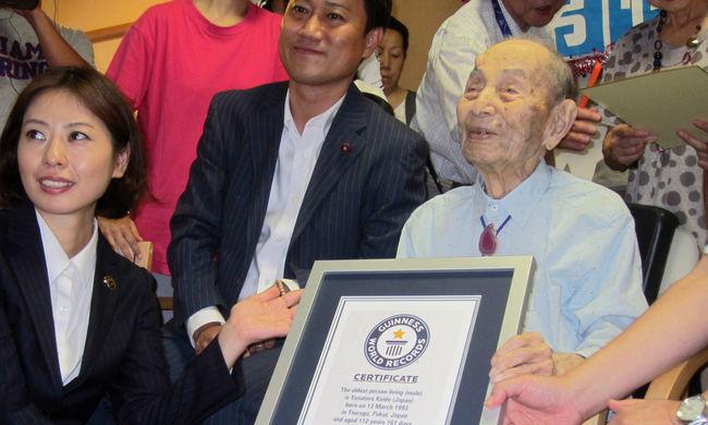 113. születésnapja előtt meghalt a legidősebb férfi