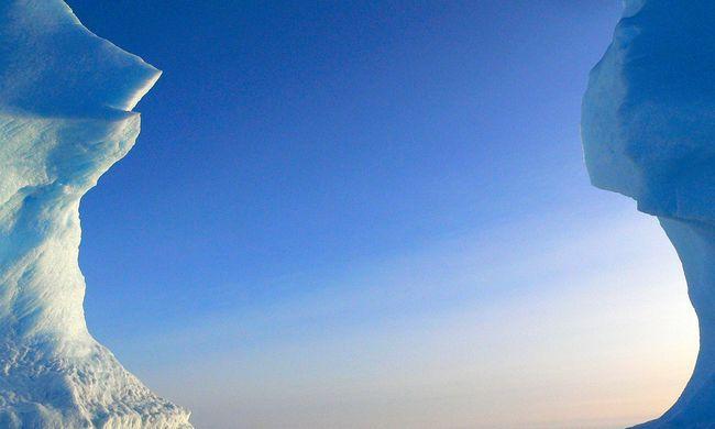 Mégiscsak létezik az antarktiszi óriáskanyon