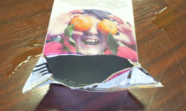 Gyümölcsleves dobozban próbált drogot csempészni