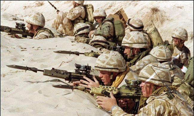 Még mindig rejtély, mitől betegek az amerikai és brit katonák