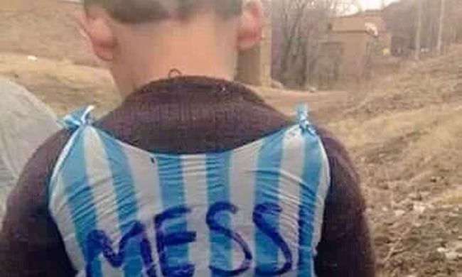 Kampány a Messi-rajongó kisfiú megtalálására
