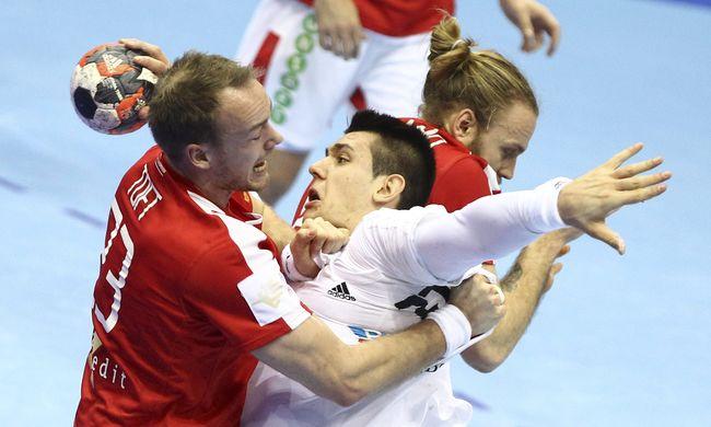 Újra kikapott a magyar kézilabda-csapat, egyre távolabb az olimpia