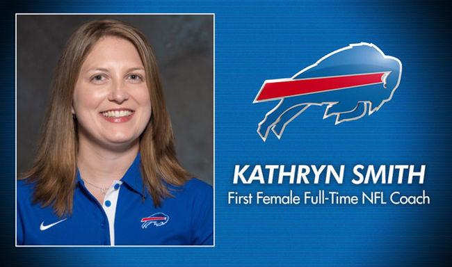 Nő edzi az NFL óriásait