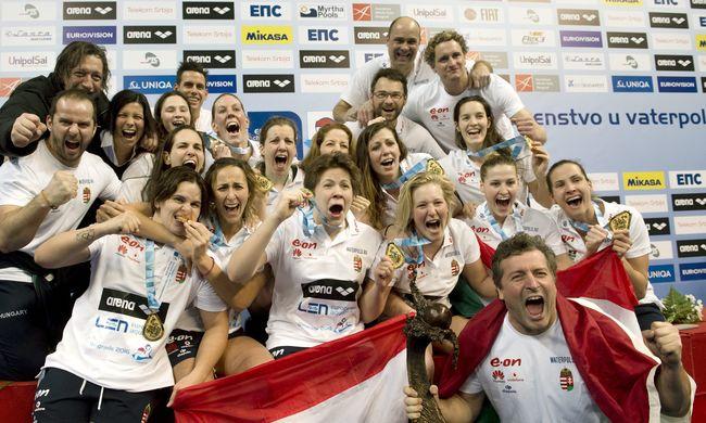 Az aranyérmes vízilabdázók edzője: végig hittem a sikerben!