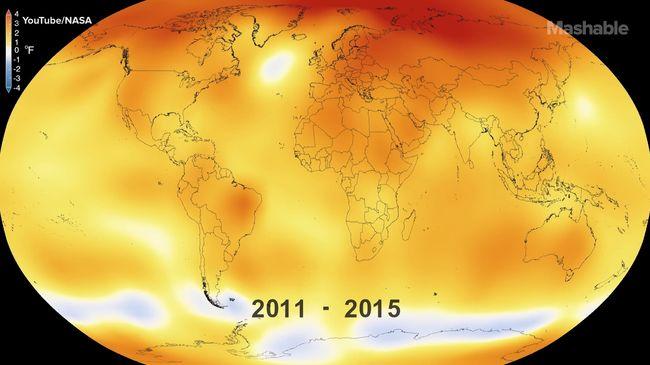 Ennyit melegedett a Föld 135 év alatt - videó