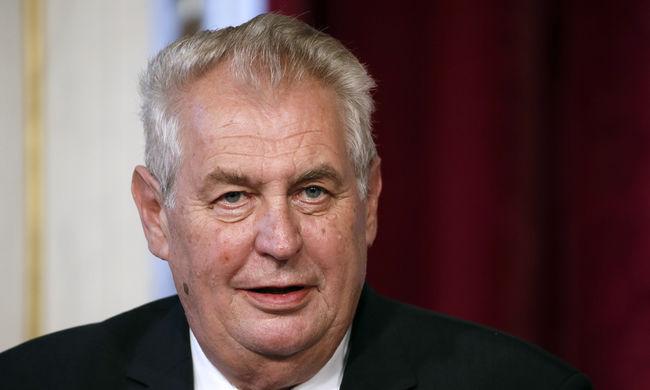 A cseh államfő szerint az Európai Unió emberkereskedelmet javasol