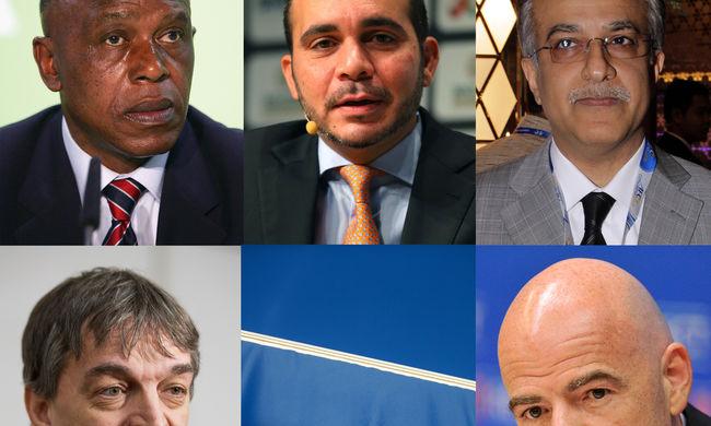 Ők öten indulnak a FIFA elnökválasztásán