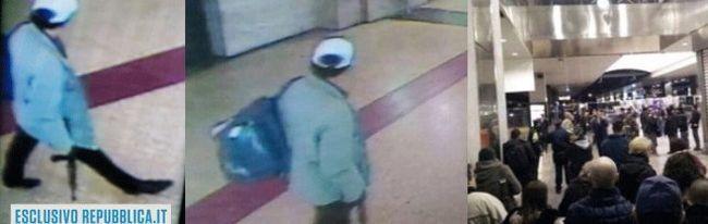Játékfegyverrel keltett hatalmas pánikot a pályaudvaron, a rendőrség elfogta