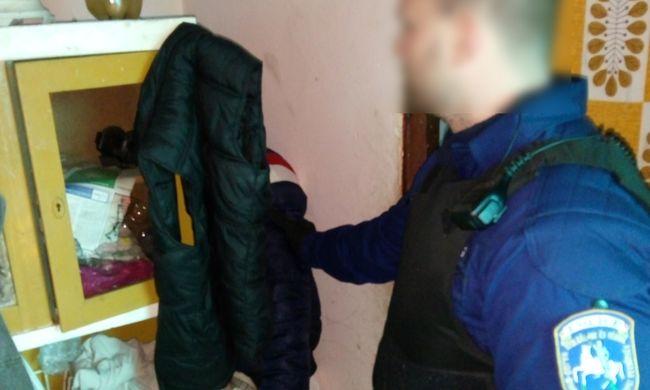 Szekrény mögött bujkált a rendőrök elől, megtalálták