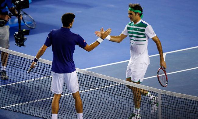 Djokovics legyőzte Federert