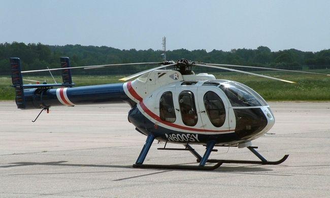 Lezuhant egy beteg kisbabát szállító helikopter