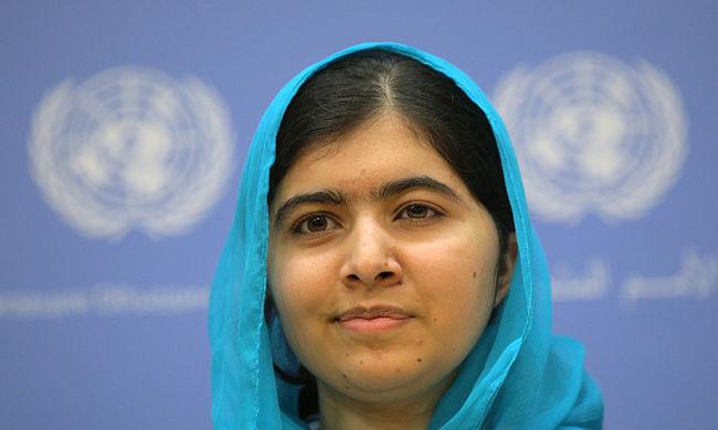 Évi 1,4 milliárd dolláros segélyt kér a szíriai gyerekeknek Malala Juszufzai