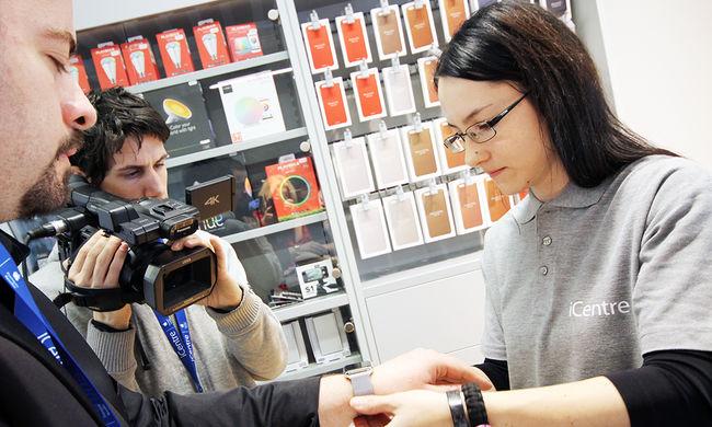 Videó: így mutatkozott be a régóta várt Apple-termék Magyarországon