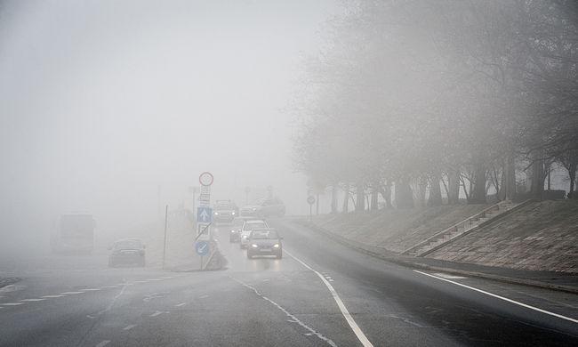 Kiadták a riasztást, a ködtől nem látunk majd semmit